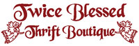 visit Twice Blessed Thrift Boutique