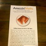 AmazinMelts Menu